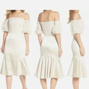 Gal meets glam wedding dress
